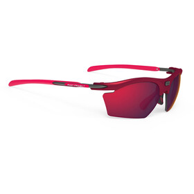 Rudy Project Rydon Slim Glasses merlot matte/multilaser red